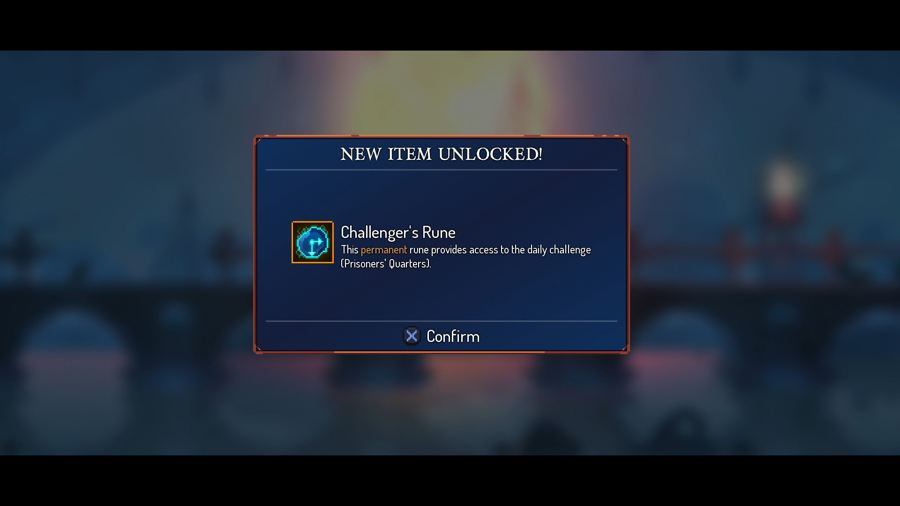 How To Unlock The Daily Challenge In Dead Cells