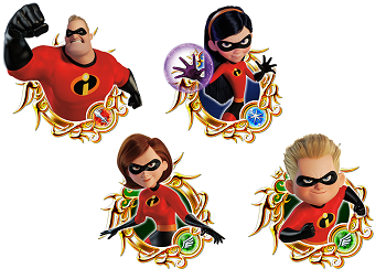 Kingdom Hearts Union The Incredibles 2 - Gamers Heroes