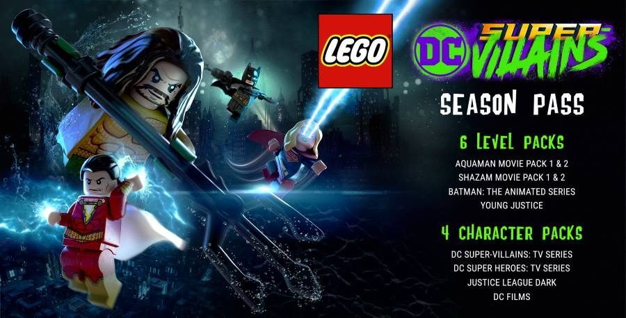 LEGO DC Super Villains Season Pass - Gamers Heroes