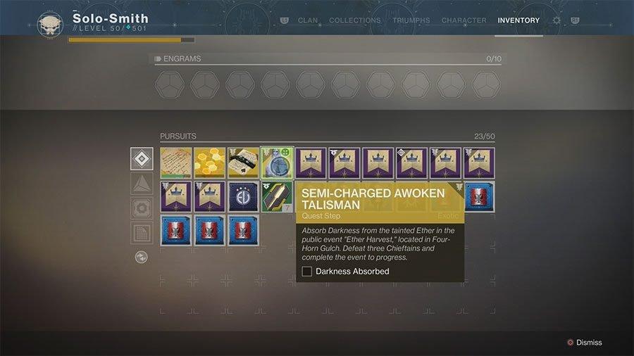 Destiny 2 Forsaken Ether Harvest Event Location