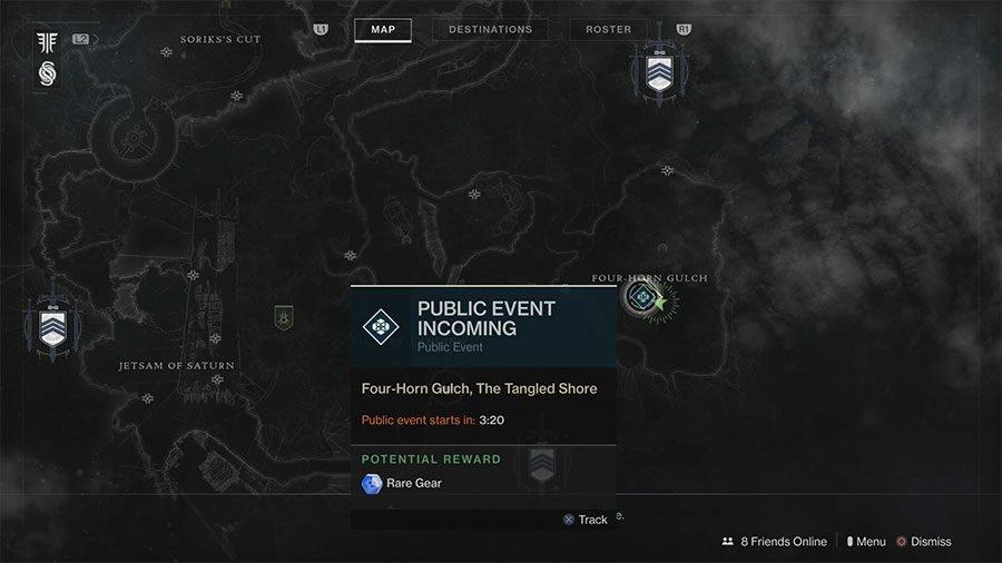 Destiny 2: Forsaken Ether Harvest Event Location