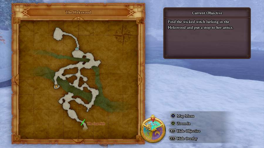 Dragon Quest XI A Cold Crush Location