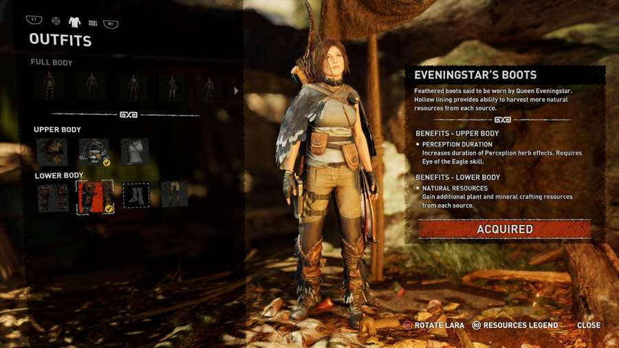 EveningStar Outfit Shadow Of The Tomb Raider