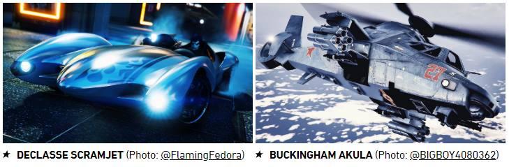 GTA Online Declasse Scramjet and Buckingham Akula - Gamers Heroes
