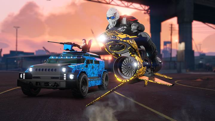 GTA Online Santo Capra Coins Livery - Gamers Heroes