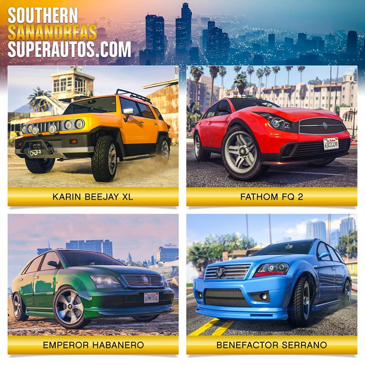 GTA Online Southern San Andreas Super Autos - Gamers Heroes