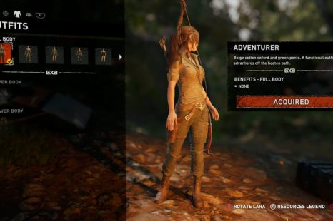 How To Change Outfits In Shadow Of The Tomb Raider