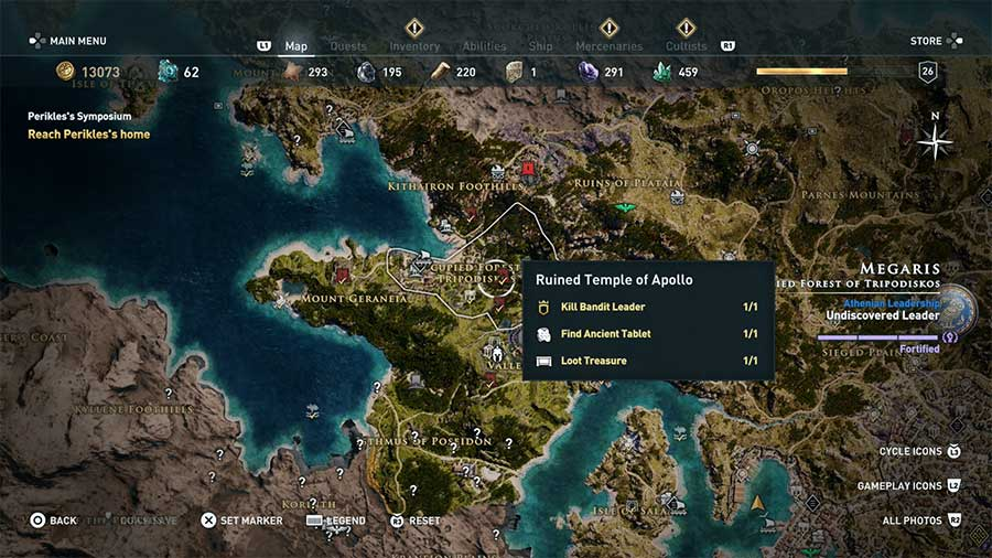 How To Get More Ancient Tablets In Assassin's Creed Odyssey Icon