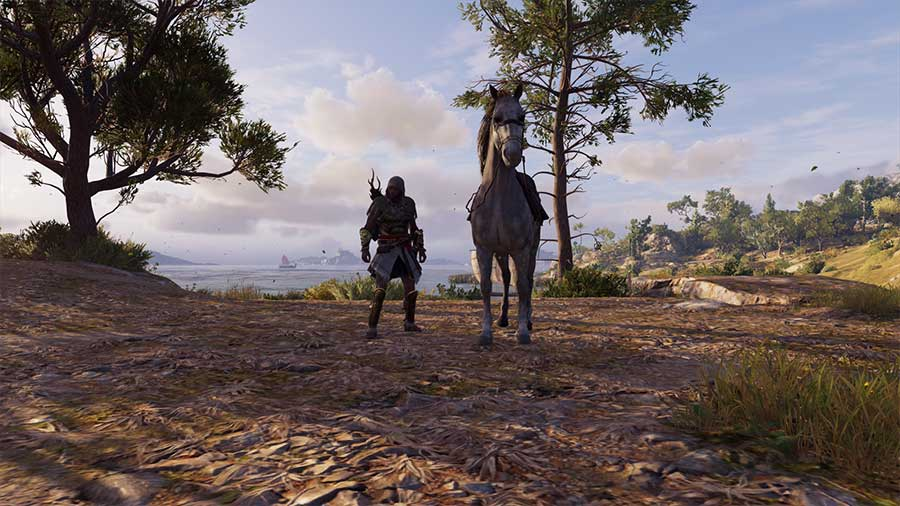 How To Summon Your Horse In Assassin's Creed Odyssey