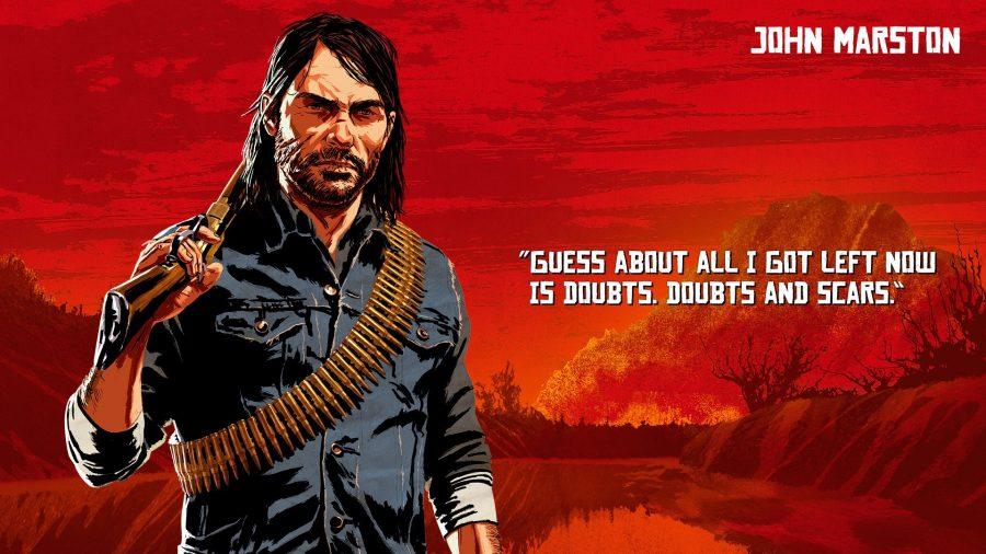 John Marston - Gamers Heroes