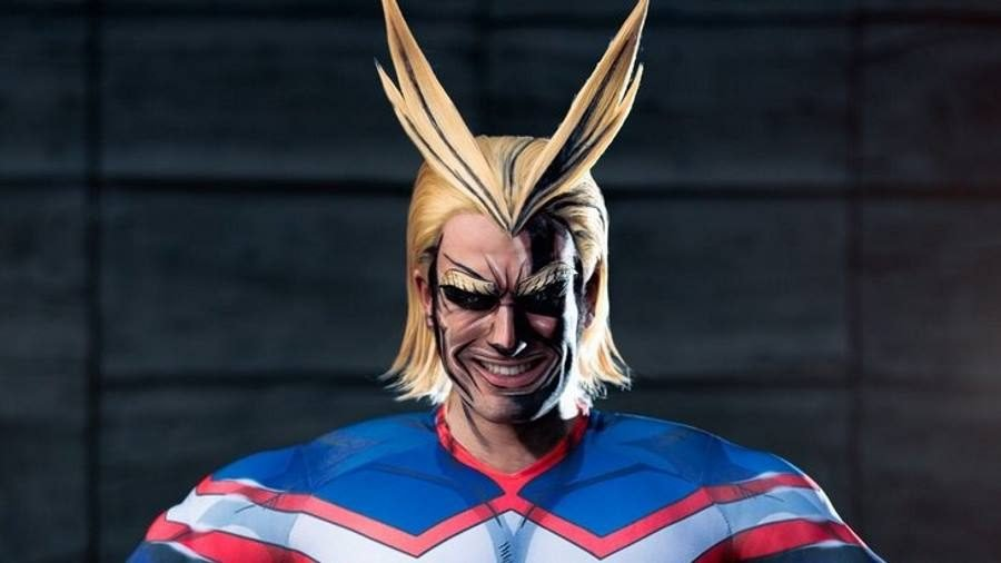 My Hero Academia All Might Cosplay - Gamers Heroes