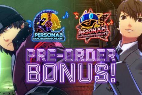 Persona 3: Dancing in Moonlight and Persona 5: Dancing in Starlight to Get Pre-Order Bonuses