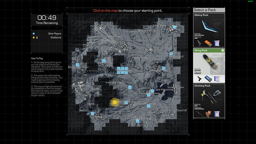Ring of Elysium Spawning