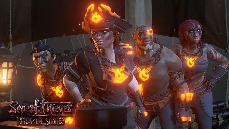 Sea of Thieves Forsaken Shores - Gamers Heroes