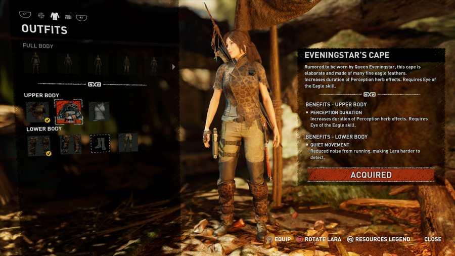 Shadow Of The Tomb Raider Outfit Guide