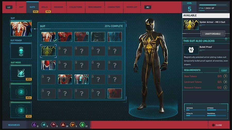 Spider Armor - MK II Suit