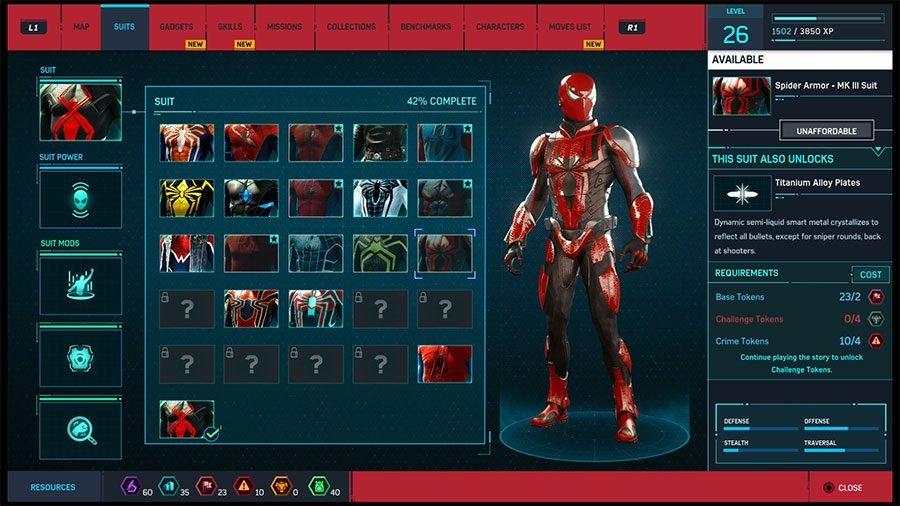 Spider Armor MK III Suit