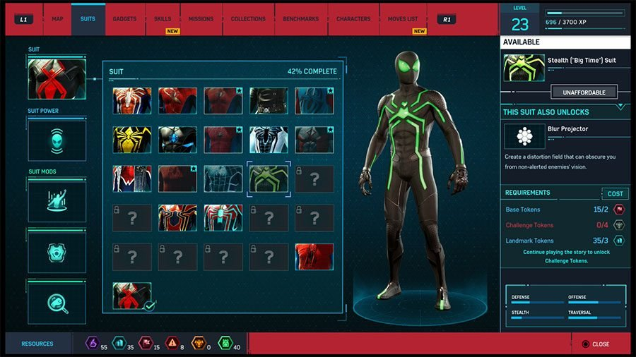 Stealth Big Time Suit
