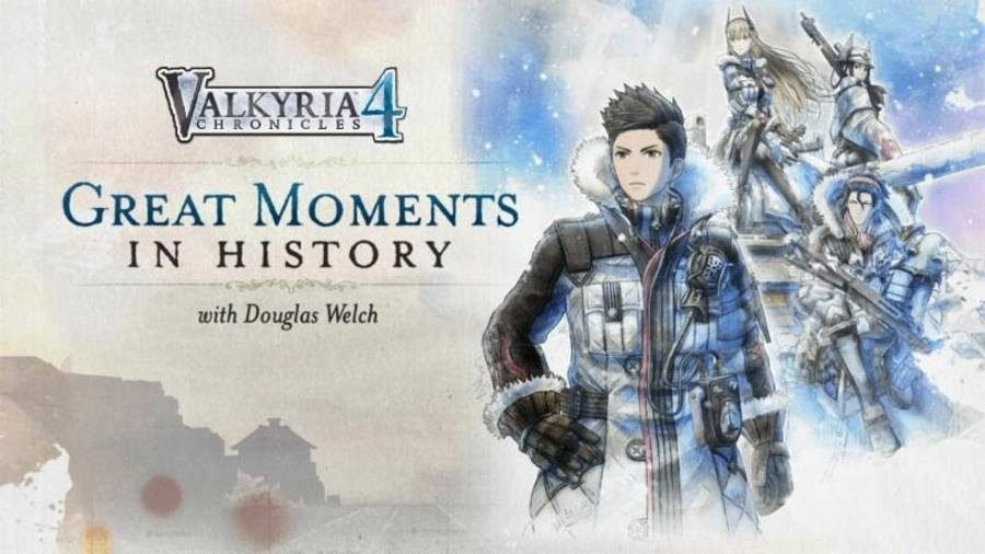 Valkyria Chronicles 4 Douglas Welch - Gamers Heroes