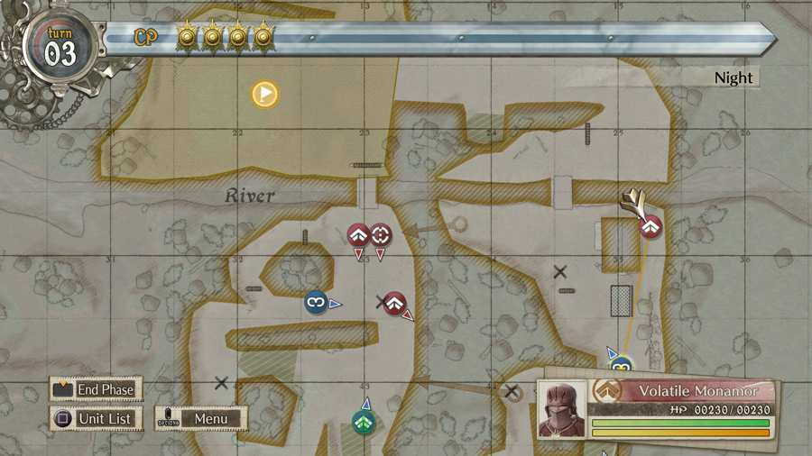 Valkyria Chronicles 4 Volatile Monamor Location