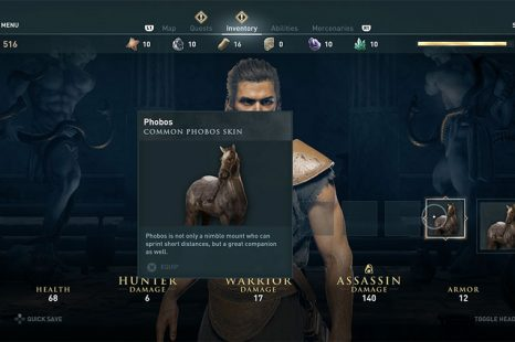 What Horse To Pick At The Start Of Assassin's Creed Odyssey