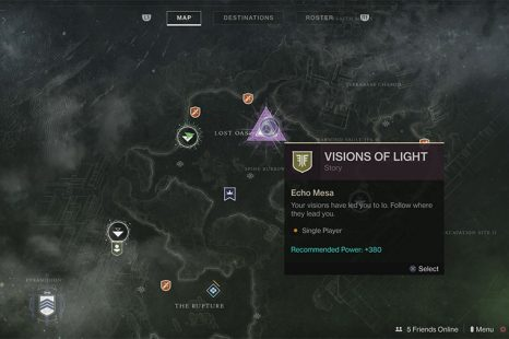 What To Do With Visions Of Light In Destiny 2: Forsaken