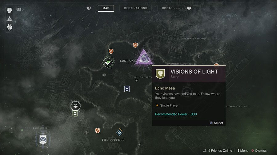What To Do With Visions Of Light In Destiny 2 Forsaken
