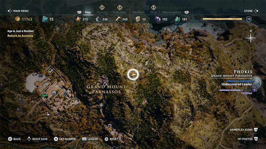 Where To Find Bears In Assassin's Creed Odyssey Location