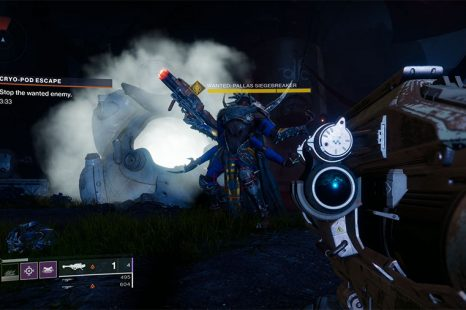 Where To Find Wanted: Pallas Siegebreaker In Destiny 2: Forsaken