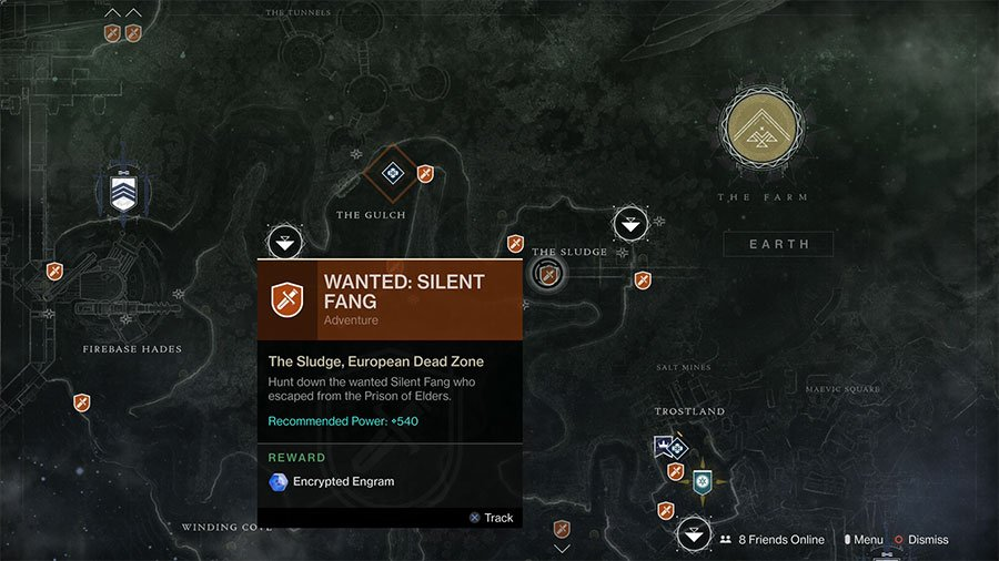Where To Find Wanted Silent Fang
