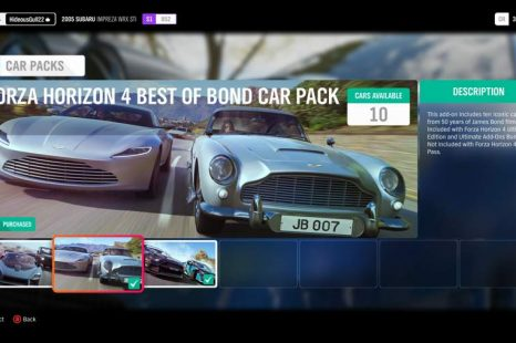 Where To Find DLC Cars In Forza Horizon 4