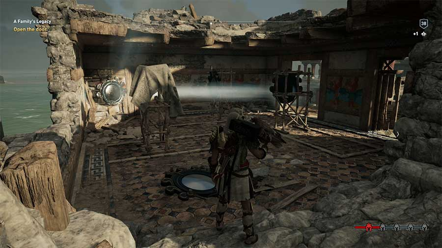 Assassins Creed Odyssey A Familys Legacy Light Puzzle Guide Mirrors