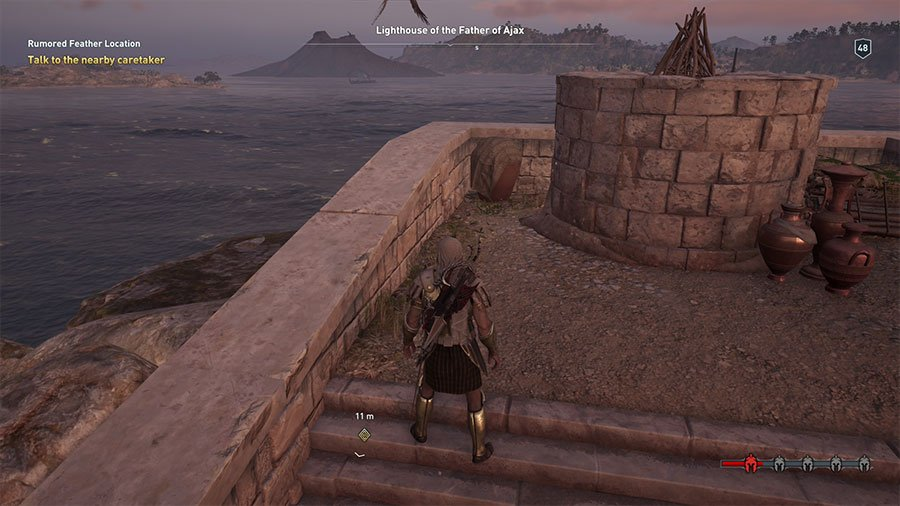 Assassin's Creed Odyssey Birds Of A Feather Guide Exact Location