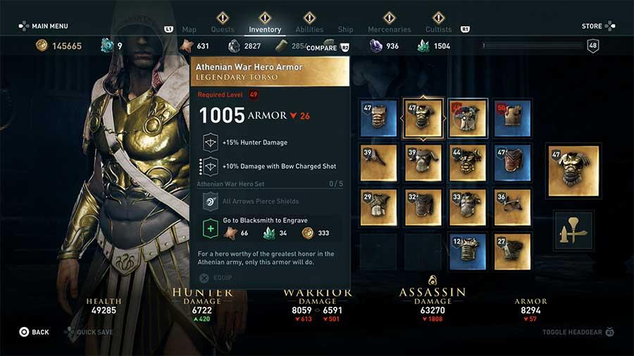 Athenian War Hero Armor