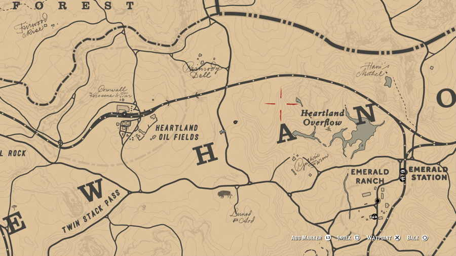 Bison Location Red dead 2