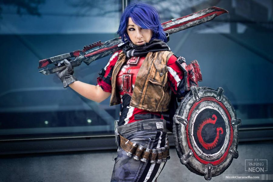 Borderlands Athena Cosplay - Gamers Heroes