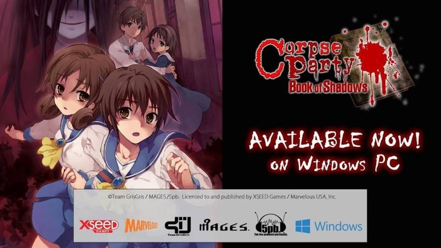Corpse Party Book of Shadows - Gamers Heroes