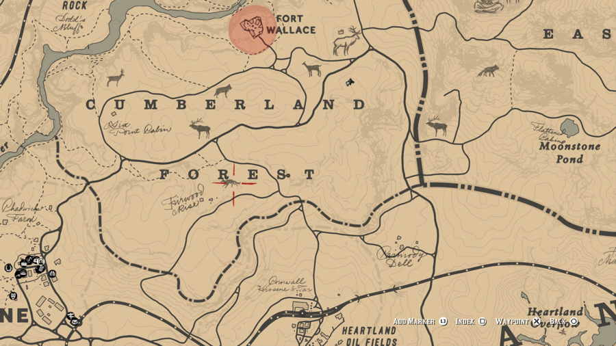 Coyote Location Red Dead Redemption 2
