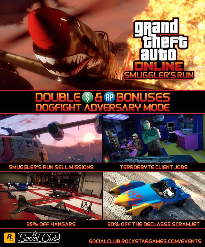 GTA Online Smugglers Run - Gamers Heroes