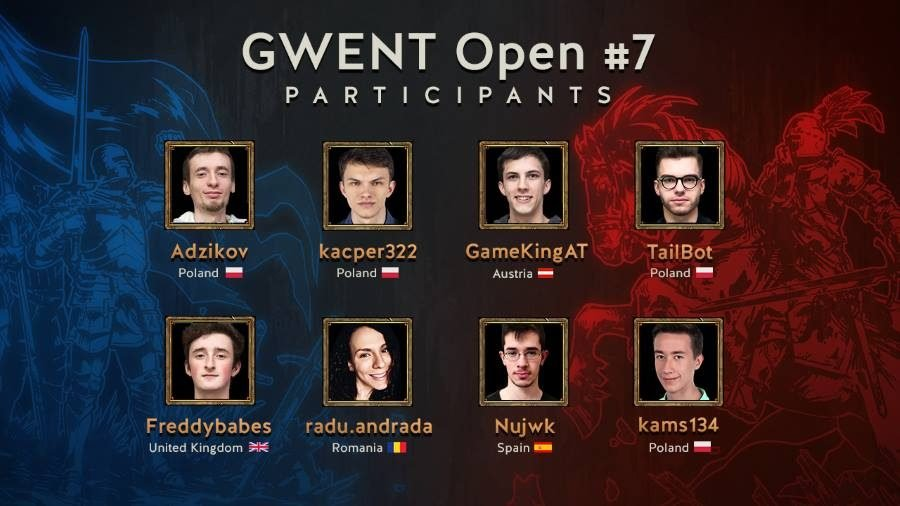 GWENT October 7 Participants - Gamers Heroes