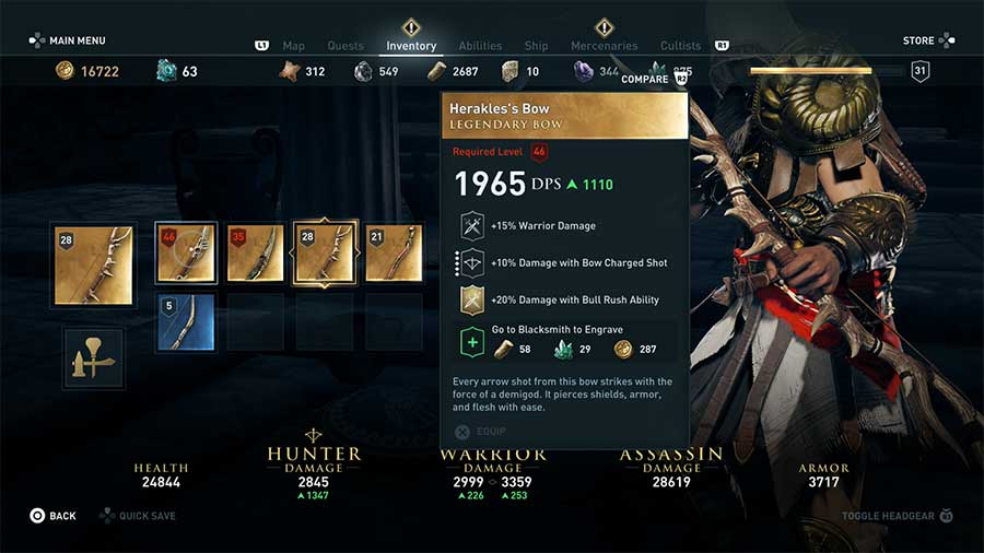 Top 10 Best Legendary Weapons In Assassin S Creed Odyssey