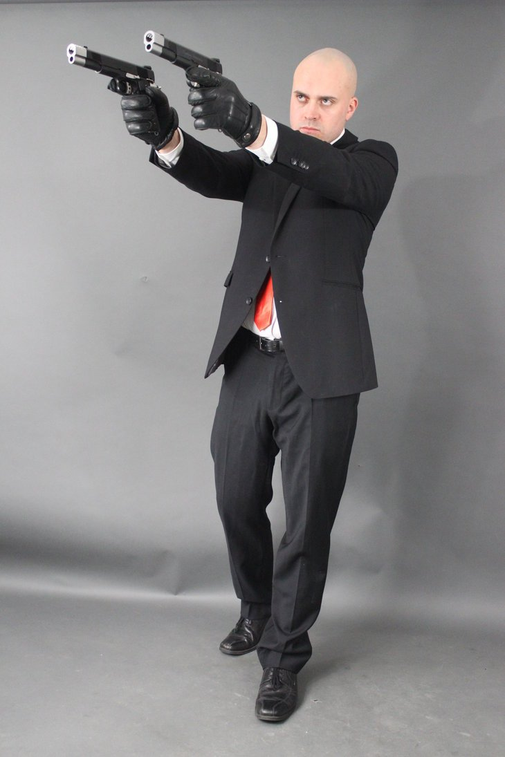 Cosplay Wednesday Hitmans Agent 47 Gamersheroes