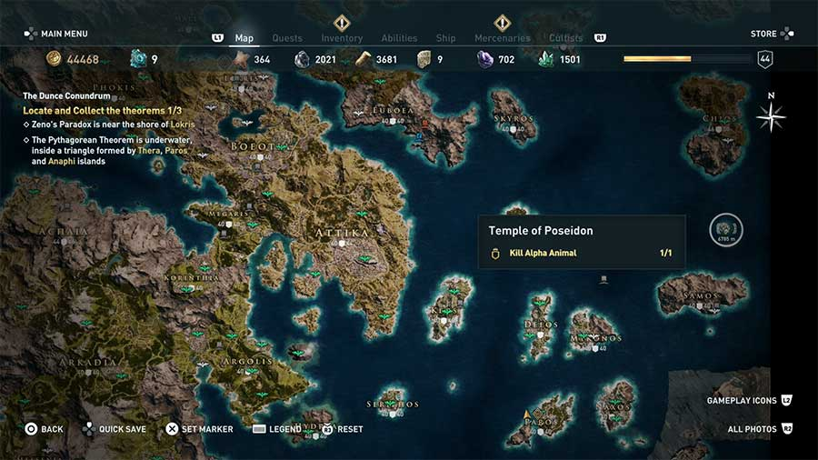 How To Breathe Underwater In Assassin's Creed Odyssey Location