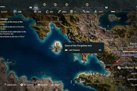 How To Enter Cave Of Forgotten Isle In Assassin's Creed Odyssey