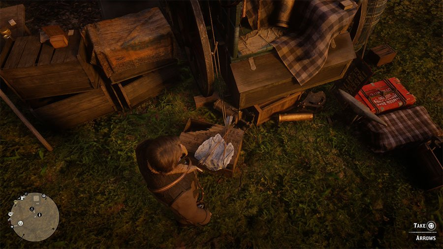 How To Get More Arrows In Red Dead Redemption 2