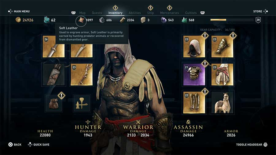 How To Get More Soft Leather In Assassin's Creed Odyssey