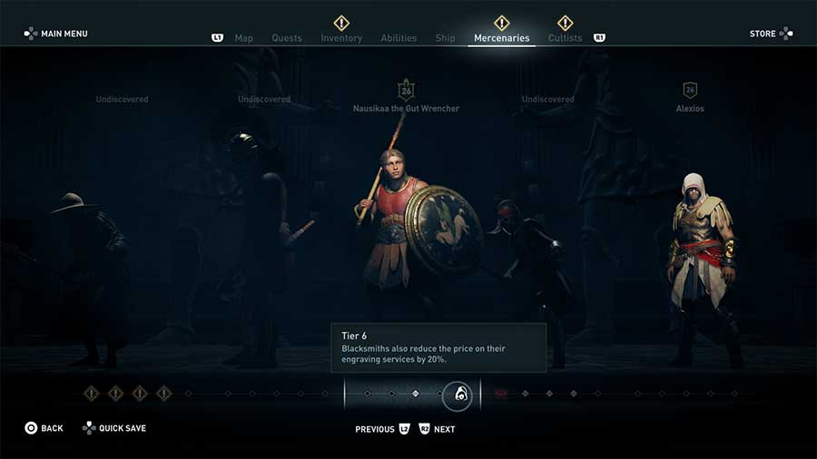 How To Increase Mercenary Tier Level In Assassin's Creed Odyssey
