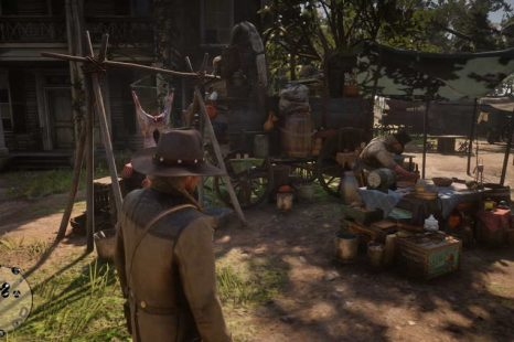 Where To Turn In Food And Hides At Camp In Red Dead Redemption 2