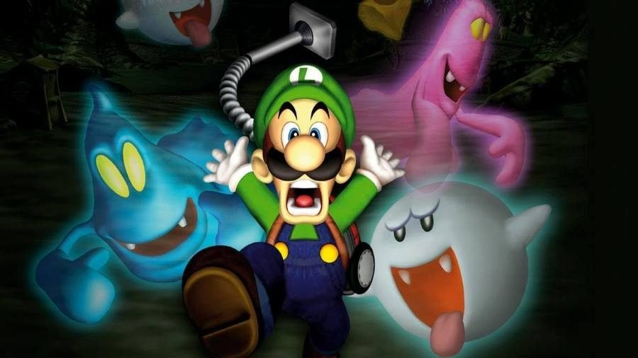 Luigi's Mansion - Gamers Heroes