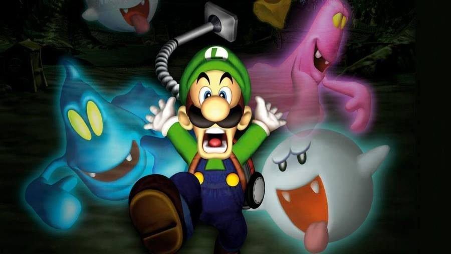 Luigi's Mansion - Gamers Heroes
